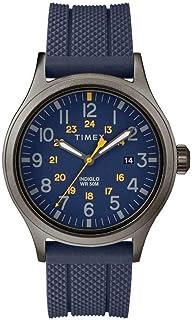 Timex Allied Blue Dial Silicone Strap Men's Watch TW2R61100