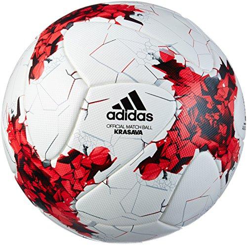 adidas FIFA Confederations Cup 2017 Omb, Palla Uomo, Bianco (Rosso/Rojpot/Gritra), 5