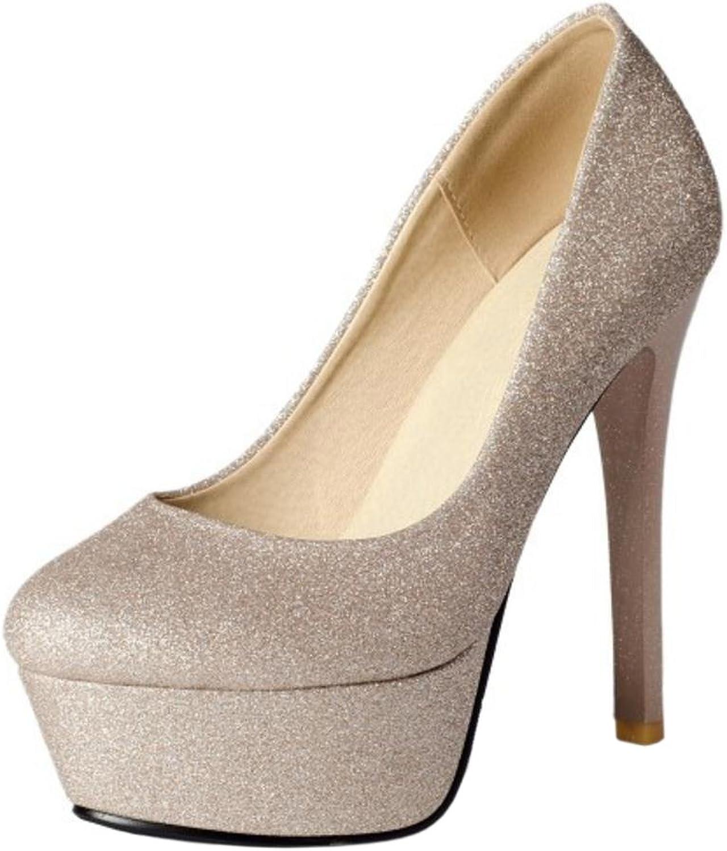 TAOFFEN Women's Party Stiletto Court shoes