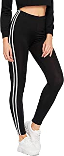 INFISPACE® Girls Sporty Double Line Cropped Jegging for Yoga, Gym and Sports