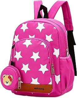 Marte Vanci Toddler Backpacks Children's Preschool Bag Bookbag Kid's Bag Cute Rabbit Bear Star Bag