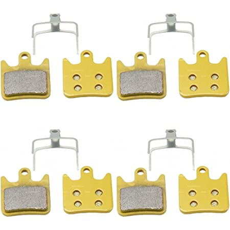 Compat DH XC,Copper Back Sintered Hope TECH X2 Bike Disc Brake Pads with Spring