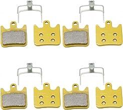 4 Pairs of Hope TECH X2 Sintered Disc Brake Pads Compatible TechX2 HopeX2 DH XC