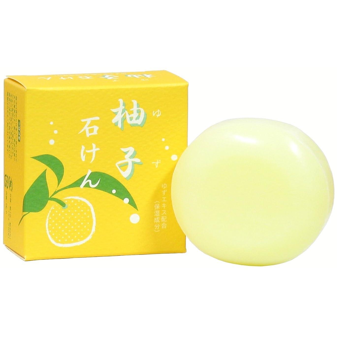 シルエット健全に同意するゆず石鹸100g ユズ 柚子 石けん せっけん セッケン