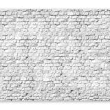 murando Fotomurales 300x210 cm XXL Papel pintado tejido no tejido Decoración de Pared decorativos Murales moderna de Diseno Fotográfico blanco bloque muro f-A-0334-a-a