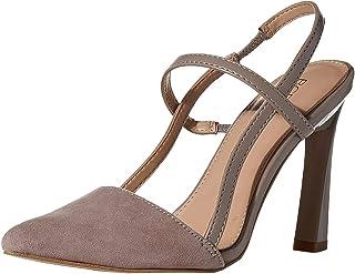 BCBGeneration حذاء Kathleen Slingback للسيدات، رمادي داكن، 5. 5 M US