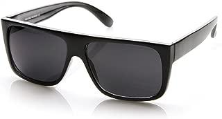 Classic Old School Eazy E Square Flat Top OG Loc Sunglasses (Black)