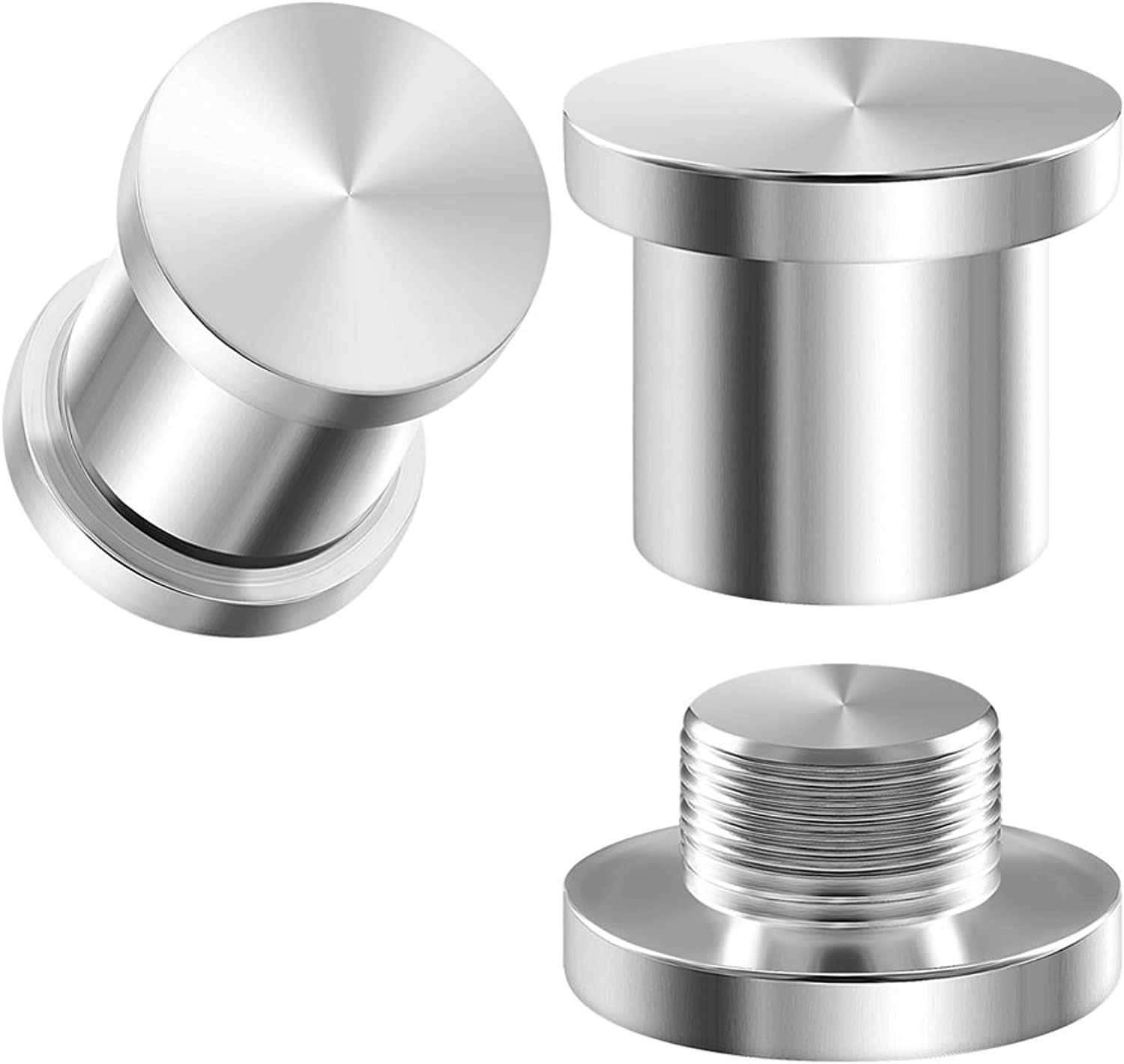 BIG GAUGES Pair of 316L Surgical Steel Internally Tunnels Piercing Jewelry Stretcher Ear Ring Earring Lobe Hollow Stash Plugs
