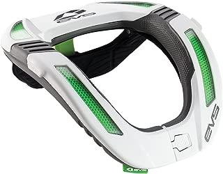 EVS Sports Unisex-Child Koroyd Race Collar (White, Youth) - R4K-W-Y