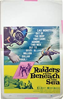 Raiders from Beneath the Sea (Original poster for the 1964 film)
