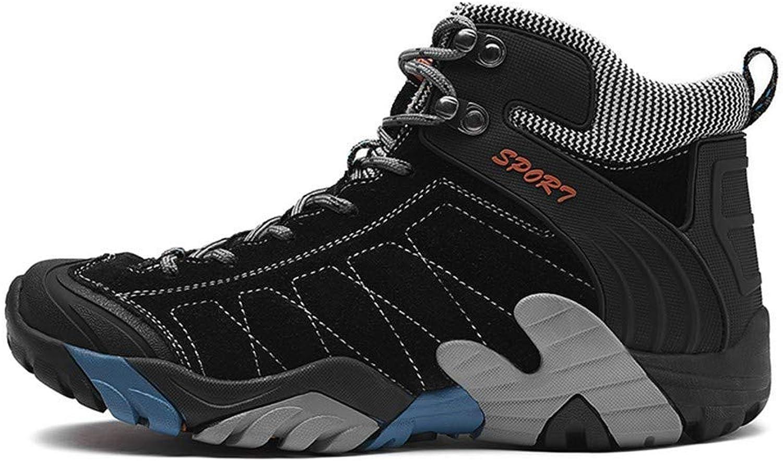 Dyx Dyx Dyx Hiking skor Winter Keep Warm Man Hiking stövlar gående skor utomhus Treking Warm Sports skor, svart, 10.5UK  till försäljning online