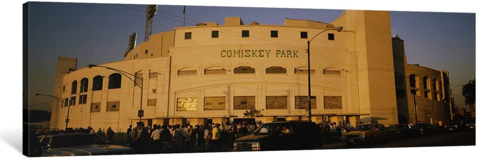 iCanvasART 1 Piece Facade of a Park Chica Stadium Dealing full price reduction Now on sale Old Comiskey