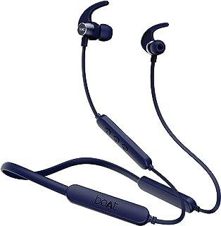 boAt Rockerz 255 Pro+ Wireless Bluetooth in Ear Neckband Earphone with Mic (Navy Blue)