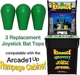 RetroArcade.us ra-js-topball-1up-kit-1 arcade1up Rampage Street Fighter 2 Galaga Pacman 3 Joystick bat top Handles