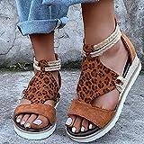 Immagine 2 tomwell sandali donna zeppa pantofole