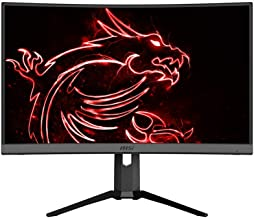 "$399 » MSI 27"" QHD (2560 x 1440) Non-Glare HDR Ready 165Hz 1500R Curvature 1ms 16:9 HDMI/DP/USB AMD FreeSync Height Tilt Adjustment Curved Gaming Monitor (OPTIX MAG272CQR)"
