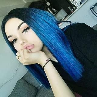 Best lace front wig blue Reviews