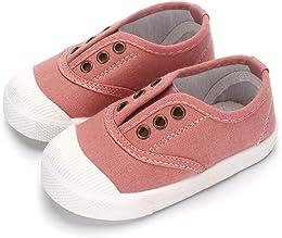 Chaussures de Toile pour Bébé Garçon Fille Basket