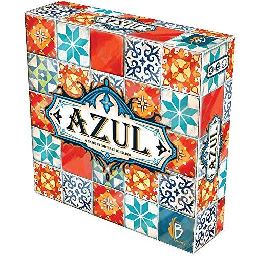 Wj Beyond The Game Cards Plan B Games Azul Board Game Juegos de Mesa Componentes Multicolores Divertido Juego accesible Fiesta de Rompecabezas para Adultos jóvenes Reunión Familiar