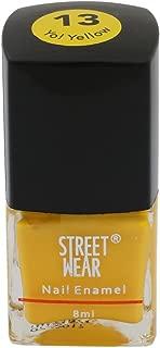 Street Wear Nail Enamel, Yo! Yellow, 8ml