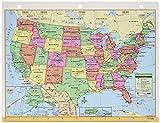 Kappa Maps United States/World Notebook Map