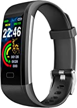 Fitness tracker, IP67 waterproof watch with exercise tracking function,blood pressure, heart rate, sleep monitoring,with p...