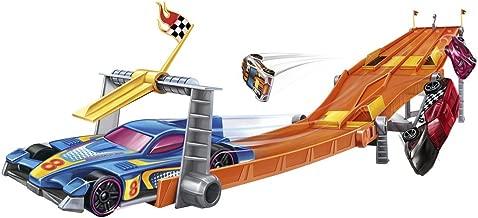 Hot Wheels Retro 4-Lane Elimination Race Track Set