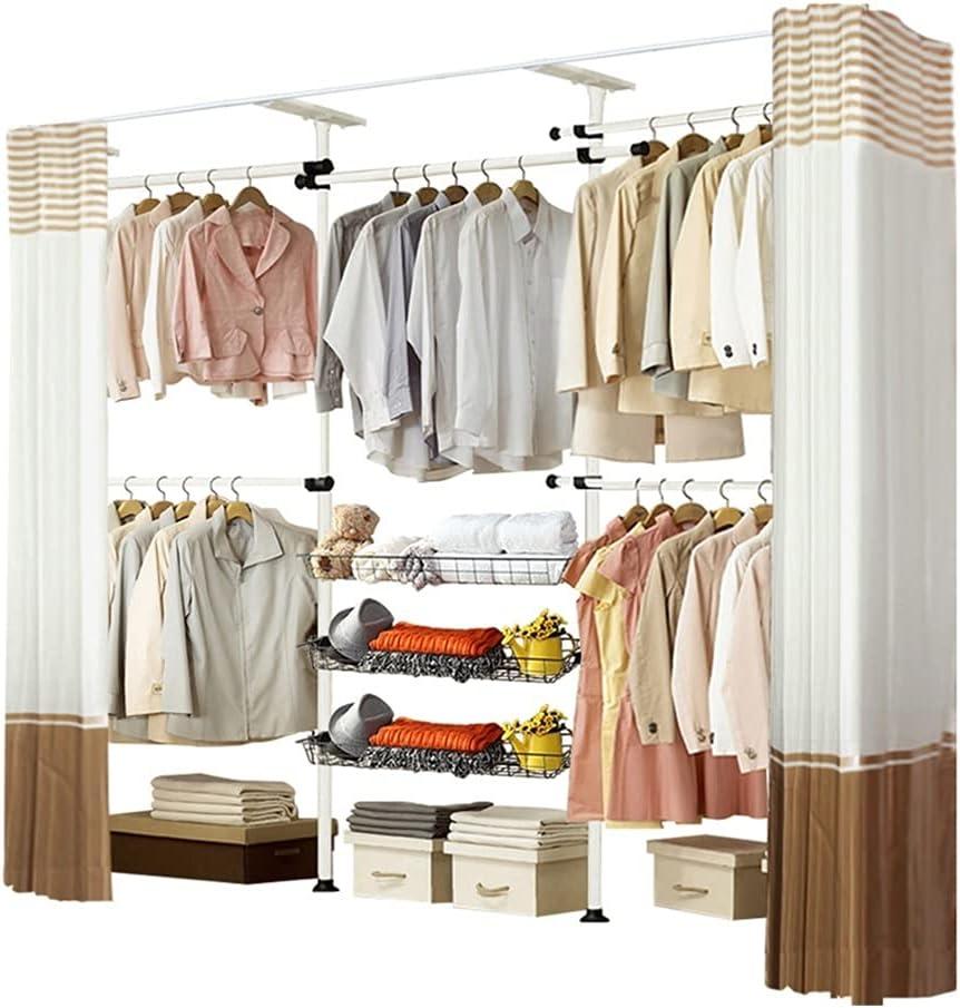 BIAOYU Wardrobe Storage Attention brand Closet Shelves Portable depot