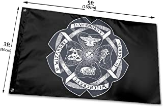 Flag Ilvermorny School of Witchcraft and Wizardry Crest Flag 3 X 5 Ft Longest Lasting- UV Protection Perfect for Outdoors!