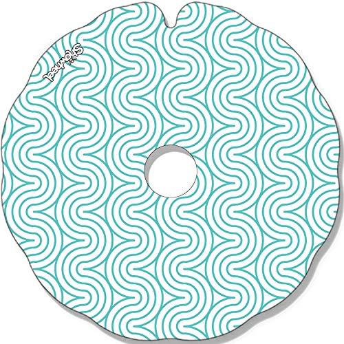 Cubre Radios Silla de Ruedas (Par) para Aro Impulsor 49,51 a 50,50 cm de Diámetro Exterior con Fijaciones Redondas - Zig Zag