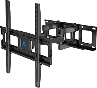 Full Motion TV Wall Mount Bracket Dual Articulating Arms Swivel Extension Tilt Rotation for Most 26-55 Inch LED, LCD, OLED...