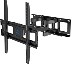 $28 » Full Motion TV Wall Mount Bracket Dual Articulating Arms Swivel Extension Tilt Rotation for Most 26-55 Inch LED, LCD, OLED Flat Curved TVs, Max VESA 400x400mm and Holds up to 99lbs by Pipishell
