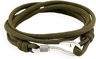 Dog Brother Fashion Fishhook Bracelets Dacron Rope Nautical Bracelets 5 Colors