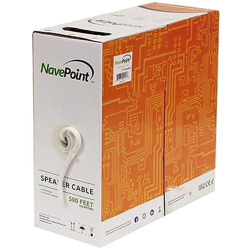 500 Ft 12/2 Gauge Speaker Wire: Amazon com