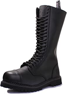 Grinders King CS Derby Black Womens Boots - KIN-CS-BLA
