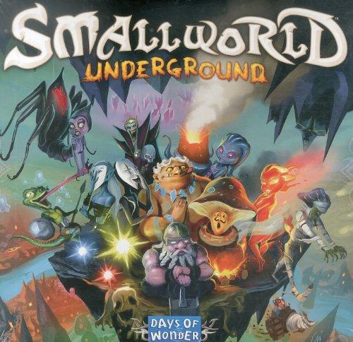 Desconocido Smallworld Underground, Brettspiel