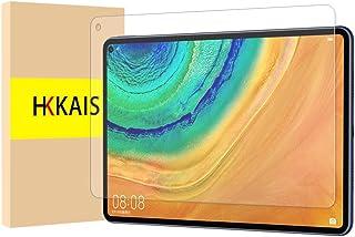 HKKAIS Huawei MatePad Pro 10.8 フィルム【1枚セット】硬度9H 超薄0.26mm 2.5D 耐衝撃 撥油性 超耐久 耐指紋 日本旭硝子素材採用 飛散防止処理保護フィルム HUAWEI MatePad Pro 10.8インチ 対応 …