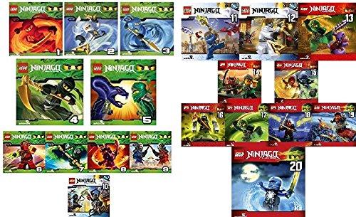 Ninjago - Hörspiel, Vols. 1-20