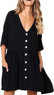 button up babydoll dress