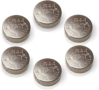 LR44 AG13 357 A76 303 SR44 1.5V Button Cell Batteries for thermometers 6pcs