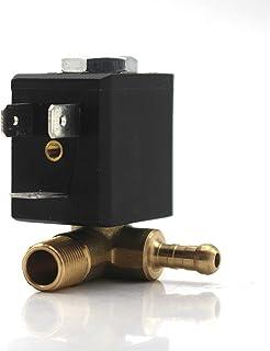 HUALEIYUAN AU AC220-240V 2/2 Way G1/4inch N/C Cannula Steam Mop Boiler Iron Solenoid Valve Garment Steamer Electromagnetic...