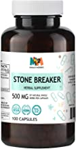 Stone Breaker 100 Capsules, 500 mg, Organic Stonebreaker Herb (Chanca Piedra, Phyllanthus niruri)