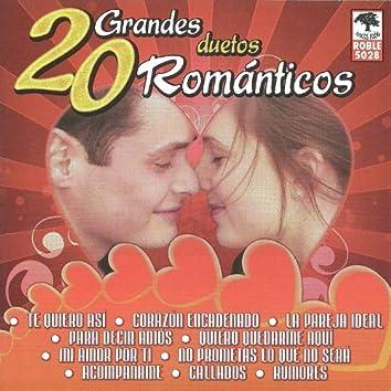 20 Grandes Duetos Romanticos