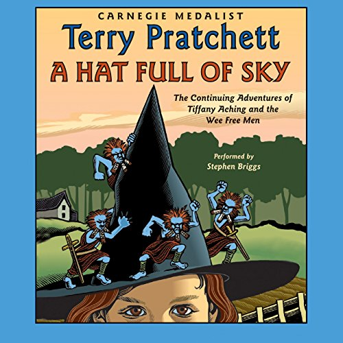 A Hat Full of Sky: Discworld Childrens, Book 3 audiobook cover art