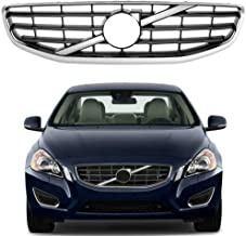 Chrome Black Front Grille Radiator Grill For Volvo S60 S-60 2011 2012 2013 US Shipment