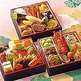 【12/30お届け】2021年 はま寿司おせち 彩り三段重 約3~4人前