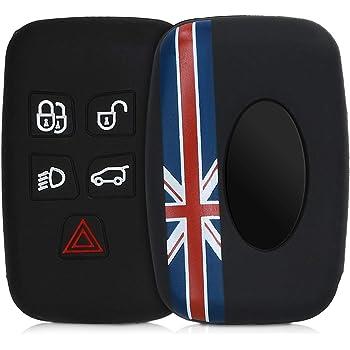 Kwmobile Autoschlüssel Hülle Kompatibel Mit Land Rover Elektronik