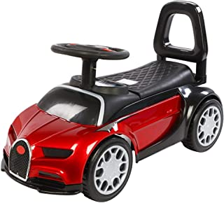 lquideスイングカーブルー、子供のスクーターユニバーサルホイールプッシャー滑りやすい車で音楽赤ちゃんフリッカースイベルスクーター玩具ツイストスイング車