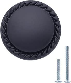 black kitchen door knobs