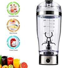 450ml Electric Protein Shaker Mixer Blender Portable Handheld Drink Bottle Battery Operated Smart Mixer Cup Automatic Movement Stirrer